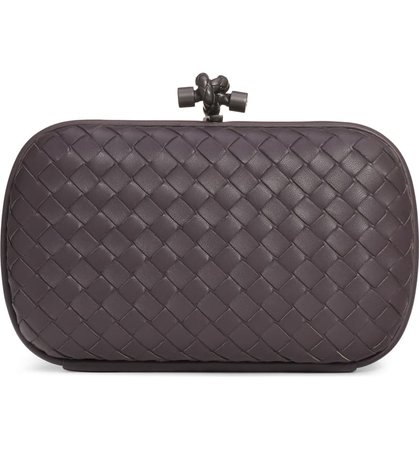 Bottega Veneta Intrecciato Leather Knot Clutch | Nordstrom