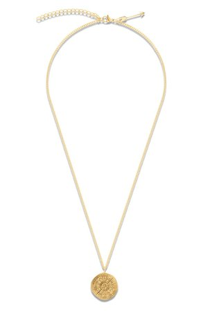 Ellie Vail Trey Zodiac Pendant Necklace | Nordstrom