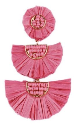 Pink earring The Songbird Collection
