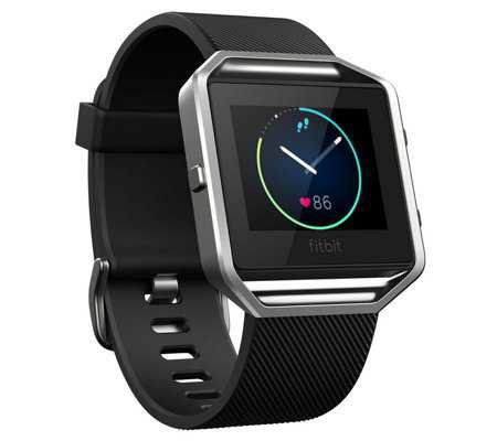 Fitbit Blaze Smart Fitness Watch with Heart Rate Monitor — QVC.com
