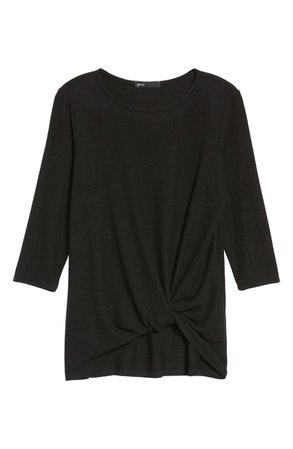 Gibson Cozy Twist Front Pullover   Nordstrom