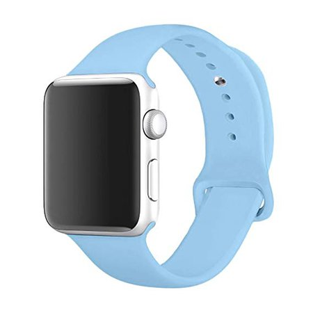 Blue apple watch