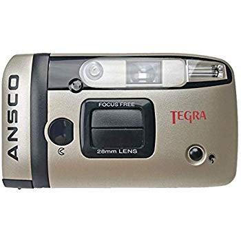 Amazon.com : Ansco Tegra 35mm Film Camera Compact Point & Shoot Flash Panorama Focus Free Vintage : Camera & Photo