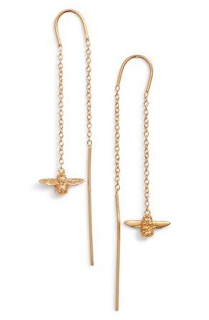 Olivia Burton Bee Chain Thread Through Earrings | Nordstrom