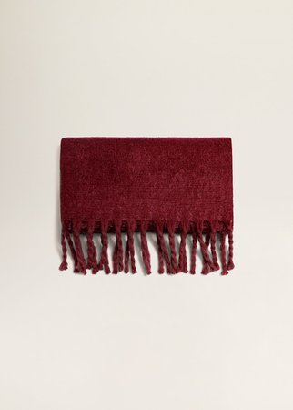 Textured maxi scarf - Women | MANGO USA