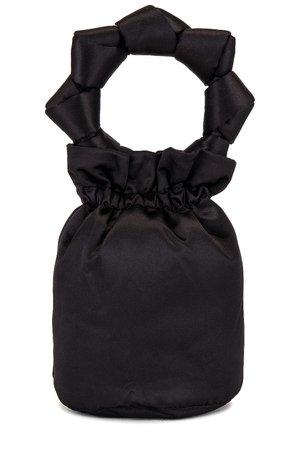 Ganni Top Handle Purse in Black | REVOLVE