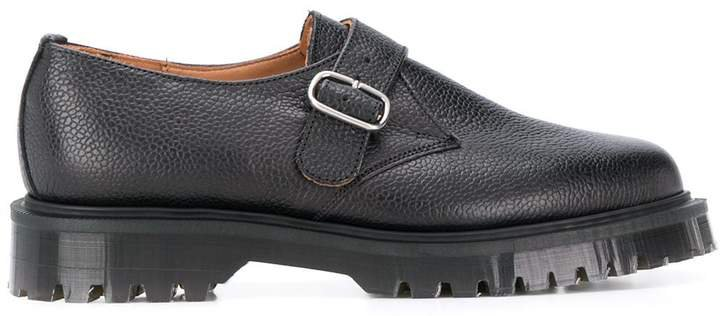 chunky sole buckled oxford shoes