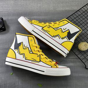 Japanese Pikachu Hand-painted Shoes SE20685 – SANRENSE