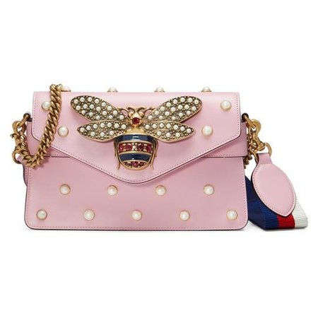 Broadway leather mini bag - Gucci Women's Shoulder Bags 453778DVUDT8007