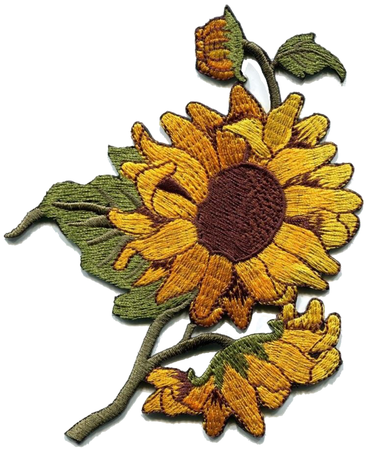 sunflower sticky patch