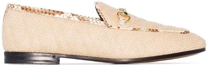 Jordaan woven-style loafers