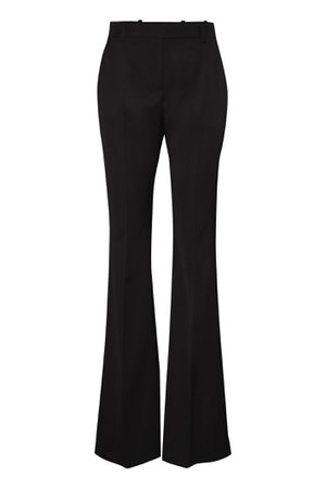 Alexander McQueen Virgin Wool Flared Trousers