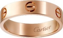 CRB4084800 - LOVE ring - Pink gold - Cartier