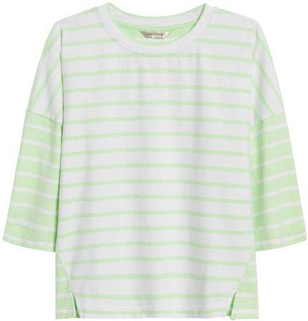 JAPAN EXCLUSIVE Oversize Stripe T-Shirt