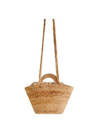 MANGO Braided mini bag