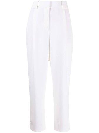 Giorgio Armani high-waisted silk trousers - FARFETCH