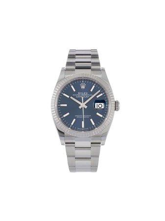 Rolex Наручные Часы Oyster Perpetual Datejust pre-owned 36 Мм 2020-го Года - Farfetch