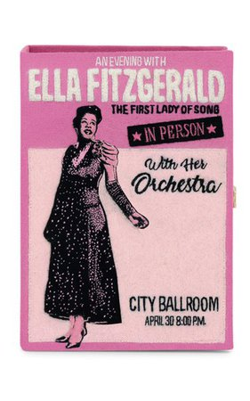 Ella Fitzgerald Book Clutch By Olympia Le-Tan   Moda Operandi