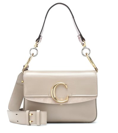Chloé C Small Leather Shoulder Bag | Chloé - mytheresa.com