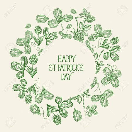95929478-vintage-st-patrick-s-day-green-template-with-inscription-in-round-frame-and-sketch-irish-clover-vect.jpg (1300×1300)