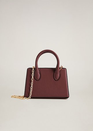 Chain mini bag - Women | Mango United Kingdom