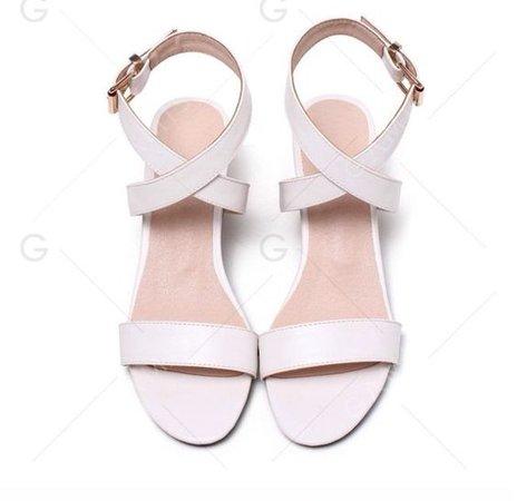 Pink Heel Sandals