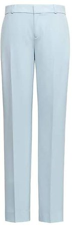 Avery Straight-Fit Machine-Washable Italian Wool Blend Ankle Pant