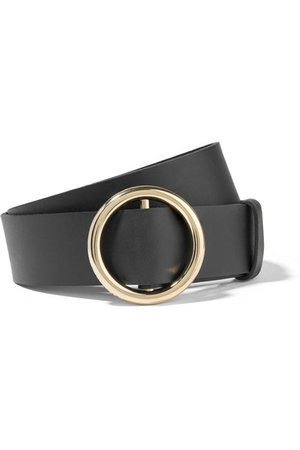 FRAME | Le Circle leather belt | NET-A-PORTER.COM