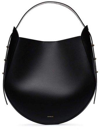 Wandler black Corsa leather tote bag