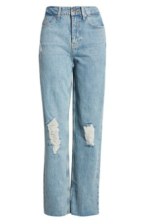 BDG Urban Outfitters Pax Ripped High Waist Jeans (Summer Vintage) | Nordstrom