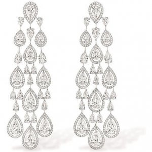 Messika Persian Drop Earrings as seen on Beyonce Knowles | Star Style