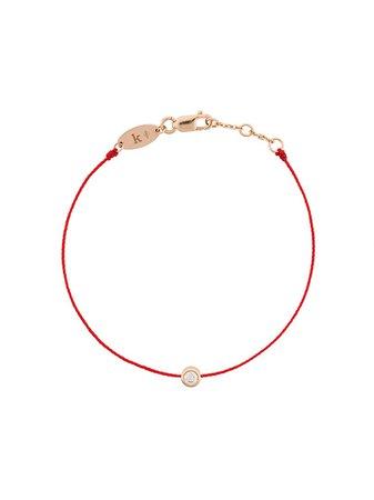Redline 18kt Rose Gold And Diamond String Bracelet - Farfetch