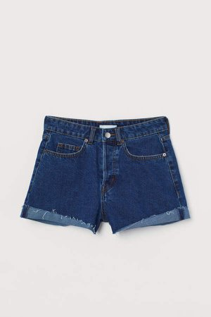 Denim Shorts - Blue