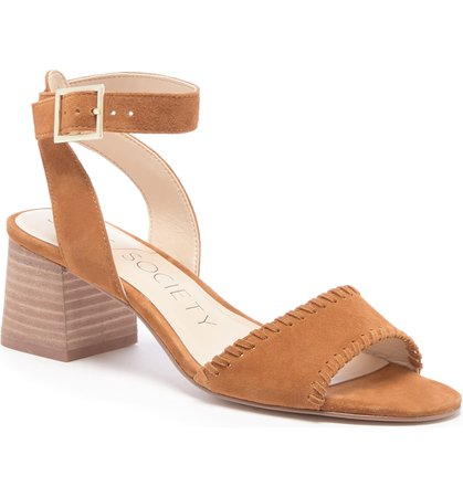 Sole Society Sylie Ankle Strap Sandal (Women) | Nordstrom