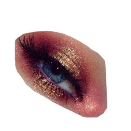 orange pink red eye png