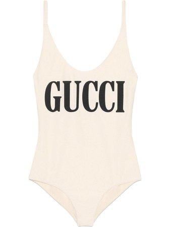 Gucci Traje De Baño Con Estampado Gucci - Farfetch