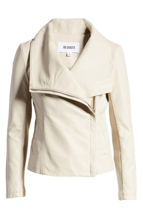 BB Dakota Up to Speed Faux Leather Moto Jacket | Nordstrom