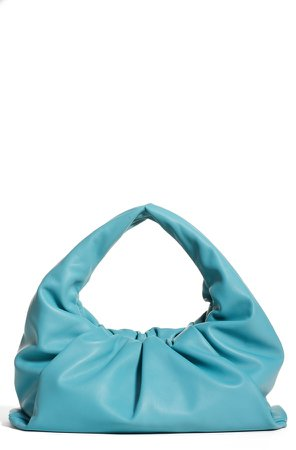 The Shoulder Pouch Calfskin Leather Hobo
