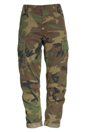 Re/Done Camo Cargo Pants | Nordstrom