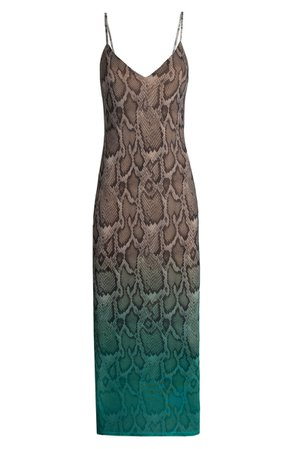 AFRM Amina Sleeveless Midi Dress | Nordstrom