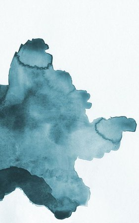 Teal Watercolor Background
