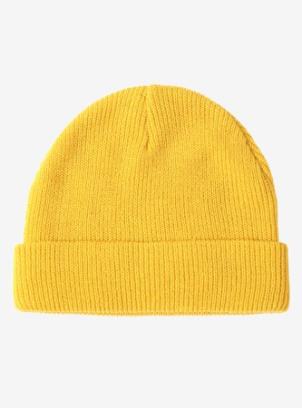 *clipped by @luci-her* Mustard Yellow Watchman Beanie