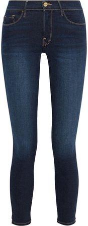 Le Skinny De Jeanne Cropped Low-rise Skinny Jeans