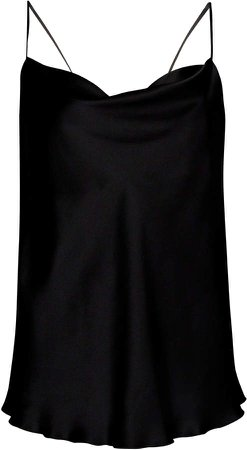 Silk Charmeuse Camisole Top