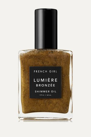 FRENCH GIRL ORGANICS Lumière Bronzée Shimmer Oil, 60ml