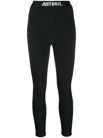 Legging Nike High-Waisted Ribbed Leggings Ss20 | Farfetch.com