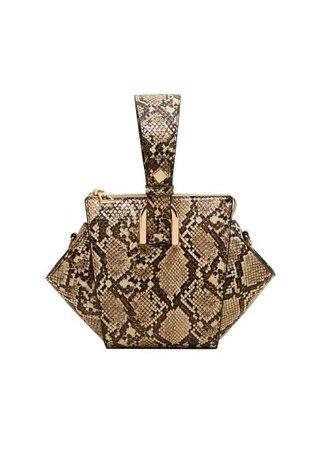 MANGO Geometric mini bag