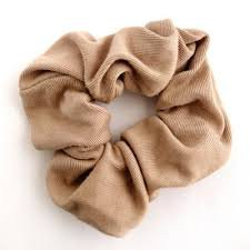 brown scrunchie - Google Search