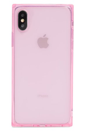 Recover Squared Pink iPhone X/Xs, Xs Max & XR Case | Nordstrom
