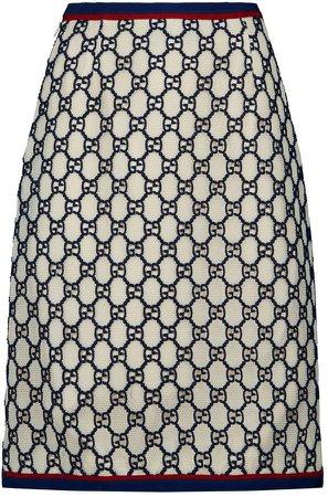 GG Mesh Skirt